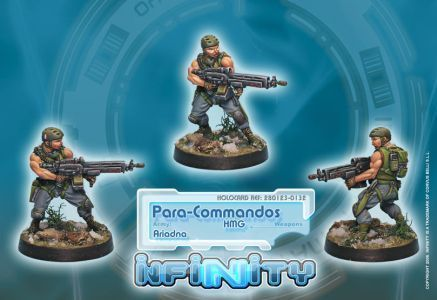 Para-Commandos 3 (HMG)
