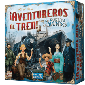 ¡Aventureros al Tren! La Vuelta al Mundo