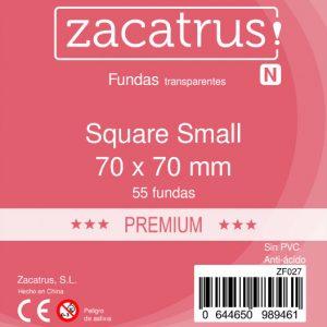 Fundas Zacatrus Square S premium (Cuadrada Pequeña) 55 uds