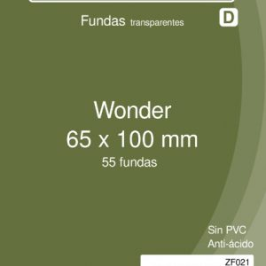 Fundas Zacatrus Wonder (65 mm X 100 mm) (55 uds)