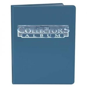 9 Pocket Blue Collectors Portfolio