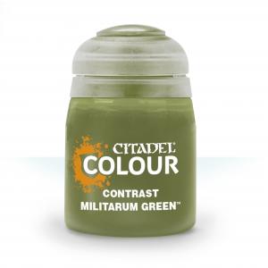 Contrast Militarum Green
