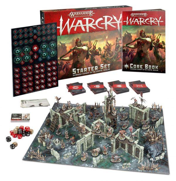 Warcry Starter Set-ingles