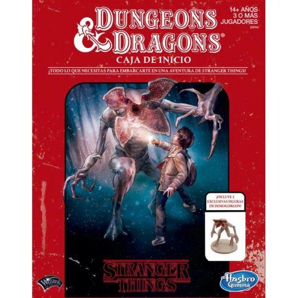 Dungeon & Dragons: Caja de Inicio (Stranger Things)