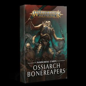Tarjetas de hojas de unidad: Ossiarch Bonereapers