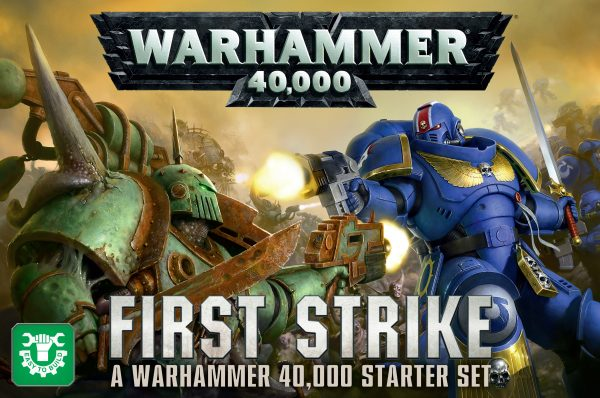 First Strike: A Warhammer 40,000 Starter Set (Inglés)