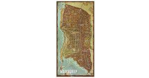 Mapa de la ciudad de Waterdeep