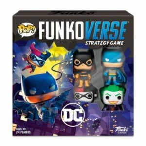 POP! Funkoverse Strategy Game - DC Comics 4 Figuras