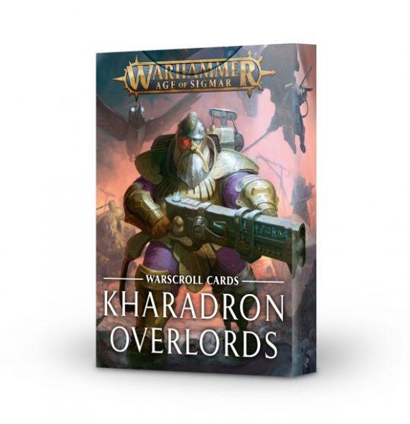 Cartas de hoja de unidad: Kharadron Overlords