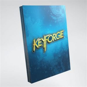 Keyforge Blue Logo Sleeves ML