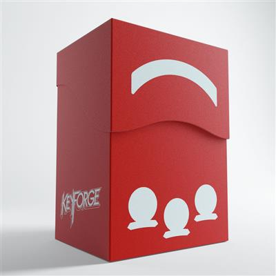 Keyforge Gemini Red Deck Box ML