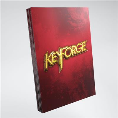 Keyforge Red Logo Sleeves ML