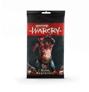 Warcry: pack de cartas de Ogor Mawtribes