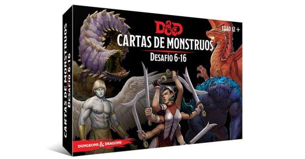 Cartas de monstruos. Desafío 6-16
