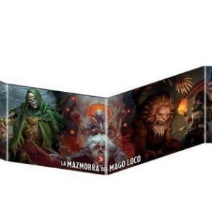 Pantalla del Dungeon Master - Waterdeep: La Mazmorra del Mago Loco