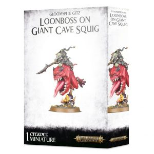 Loonboss en Giant Cave Squig