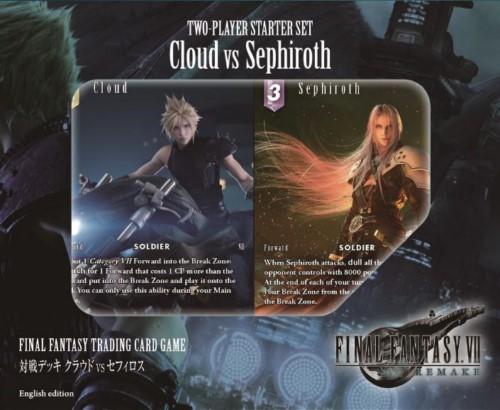 Set de Iniciación para dos jugadores: Cloud vs Sefirot