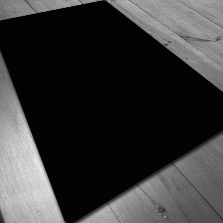 Tapete de Neopreno 140x80 cm - Negro Liso
