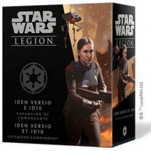 Iden Versio e ID10 Expansión de Comandante