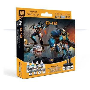 Model Color Set: Infinity 0-12 Exclusive Miniature