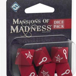 Set de dados de Mansiones de la Locura