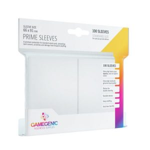 Pack Prime Sleeves White (100)