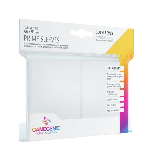 Pack Prime Sleeves White (100)