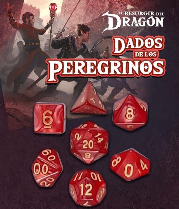 Dados de Peregrinos: Rojo Gram