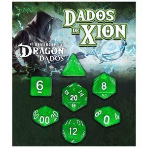 Dados de Xion: Verde Zefiria