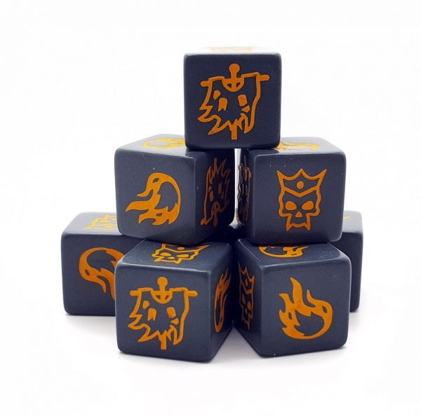 Forces of Chaos Dice