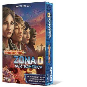 Pandemic Zona 0 Norteamérica