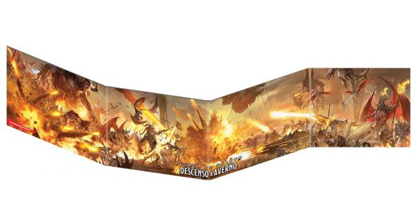 Pantalla del Dungeon Master: Descenso a Averno