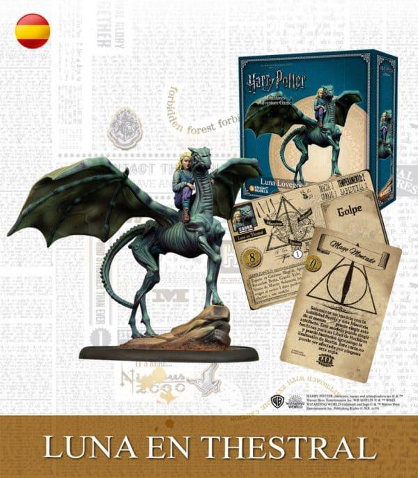 Luna Lovegood on Thestral