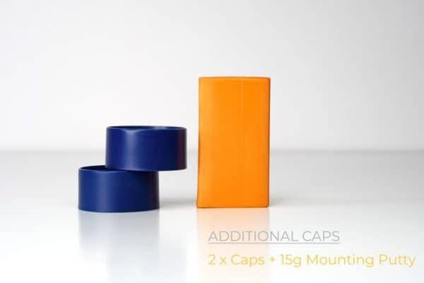 RGG360 2x additional caps: Blue
