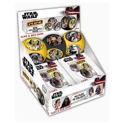 Star Wars Flipz Display
