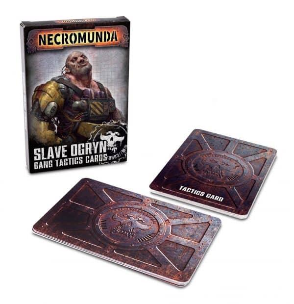 Slave Ogryn Gang Tactics Cards