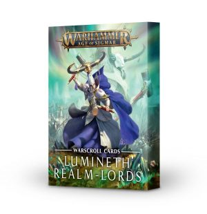 Cartas de hoja de unidad: Lumineth Realm-lords