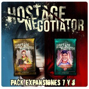 HOSTAGE EL NEGOCIADOR EXPANSIONES 7 Y 8