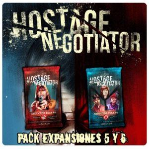 HOSTAGE EL NEGOCIADOR EXPANSIONES 5 Y 6