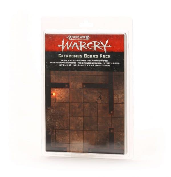 Pack de tablero de Warcry: Catacumbas
