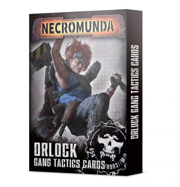 Necromunda: Orlock Gang Tactics Cards (Inglés)