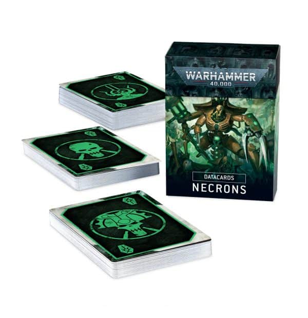 Cartas de datos: Necrones