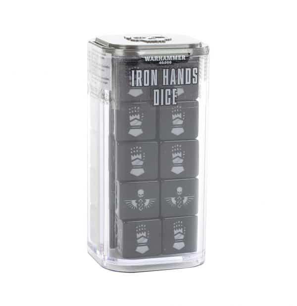 Juego de dados Iron Hands