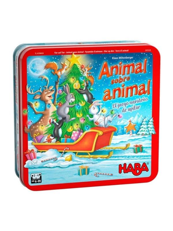 Animal Sobre Animal - Un Juego Navideño De Apila