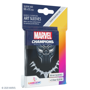 Marvel Champions Sleeves Black Panther
