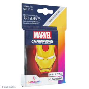 Marvel Champions Sleeves Iron Man