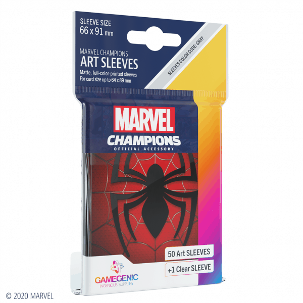 Marvel Champions Sleeves Spider-Man
