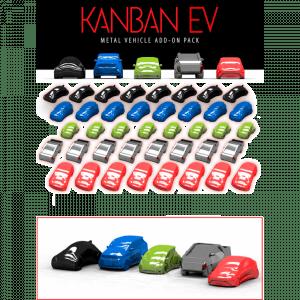 KANBAN EV: Coches metálicos