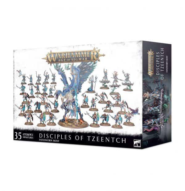 Fuerza de combate de Disciples of Tzeentch – Fatesworn Host