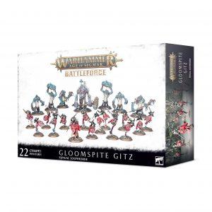 Fuerza de combate Gloomspite Gitz – Fungal Loonhorde